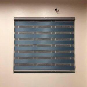 Công trình rèm cầu vồng mã GN1434 Blue