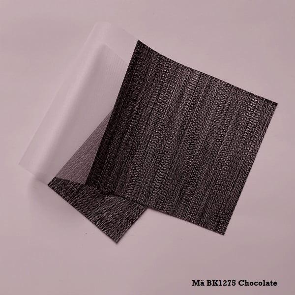 Rèm cầu vồng mã BK1275 Chocolate