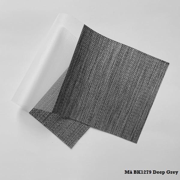 Rèm cầu vồng mã BK1279 Deep Grey