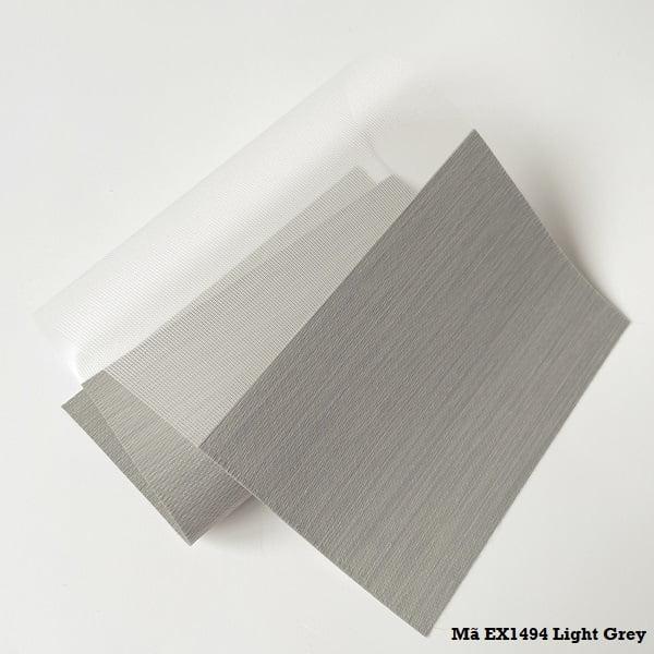Rèm cầu vồng mã EX1494 Light Grey