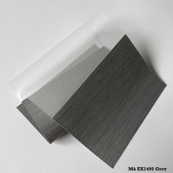 Rèm cầu vồng mã EX1495 Grey