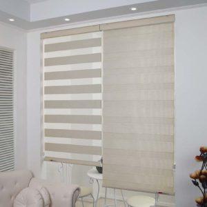 làmrèm cửa phòng khách đẹp với rèm cửa chống nắng foresr
