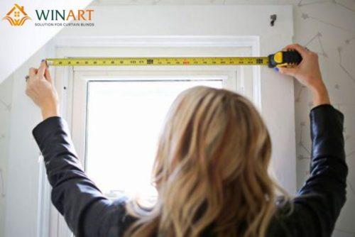 Hướng dẫn cách đo rèm cửa sổ đơn giản