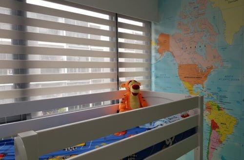 Mẫu rèm cửa chống nắng cản gió HÀN QUỐC - WINART