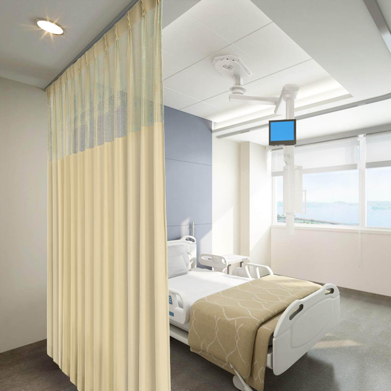 Mẫu rèm y tế tại bệnh viện