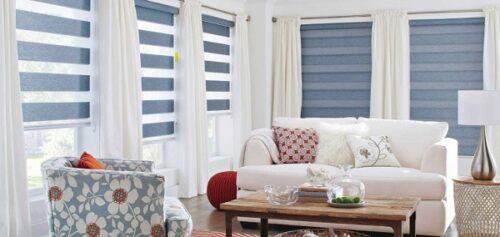 Những kiểu rèm cửa sổ đẹp