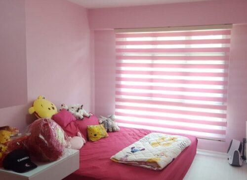 Rèm cửa sổ đẹp cho phòng trẻ em sắc màu