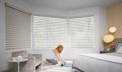 Rèm cửa sổ phòng ngủ cao cấp cho phòng ngủ ấm áp và riêng tư