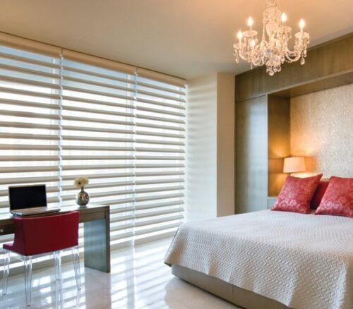 rèm chống nắng cửa sổ- mành ngang sang trọng và đẳng cấp