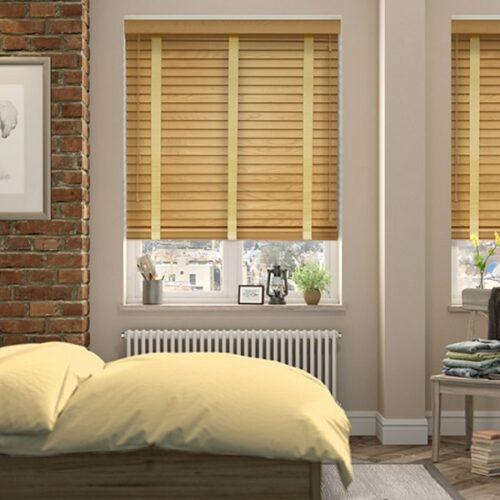 Rèm gỗ- rèm cửa chắn sáng và giữ nhiệt tốt