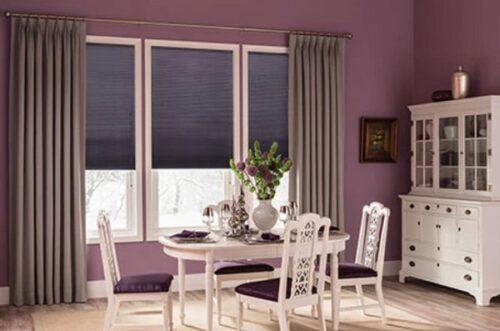 rèm cửa chống nắng cách nhiệt giúp tiết kiệm năng lượng và đem đến không gian mát mẻ mùa hè và ấm áp mùa đông