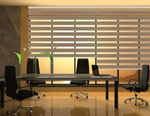 Mẫu rèm cửa kính giải pháp tuyệt vời cho không gian làm việc