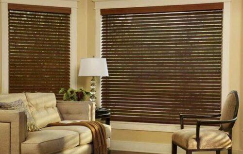 Rèm gỗ cho không gian mát mẻ và thư giãn