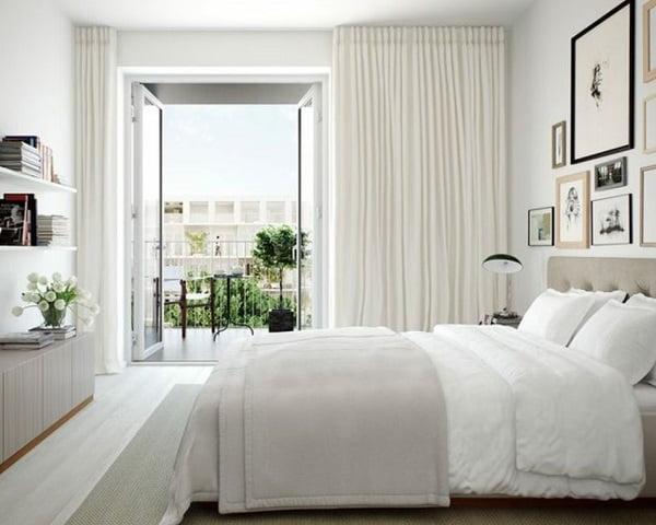 rèm vải chống nắng cách nhiệt tối ưu cho không gian phòng sang trọng và quyến rũ