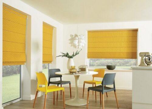Rèm cửa sổ xếp lớp đem phong cách hiện đại và cổ điển đến không gian sống