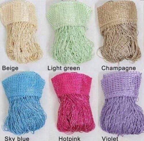 Dây rèm sợi kim tuyến với đầy đủ các màu sắc khác nhau để lựa chọn