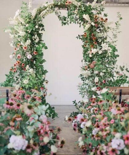 Cổng đám cưới đẹp và sang trọng