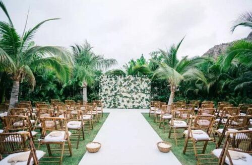 Mẫu phông rèm đám cưới đẹp và ấn tượng