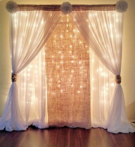 Đây là mẫu rèm cưới đẹp và tinh tế