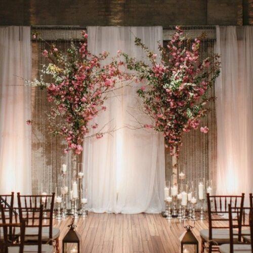 Rèm đám cưới đẹp lung linh và hút bao ánh nhìn