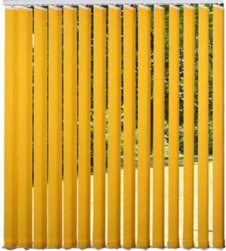 Rèm lá dọc được cấu tạo như thế nào? Các lá rèm được liên kết với nhau trên một sợi dây phía dưới giúp tạo thành một bộ rèm hoàn chỉnh