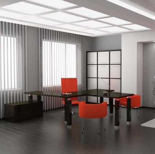 Rèm văn phòng nên dùng loại gì? Đây cũng là mẫu rèm hay được sử dụng cho văn phòng.