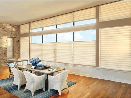 Căn phòng sáng sửa và ấm cúng với loại rèm cửa phù hợp
