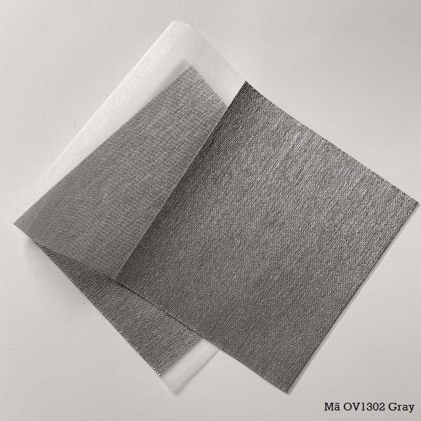 Mành cuốn cầu vồng mã OV1392 Gray