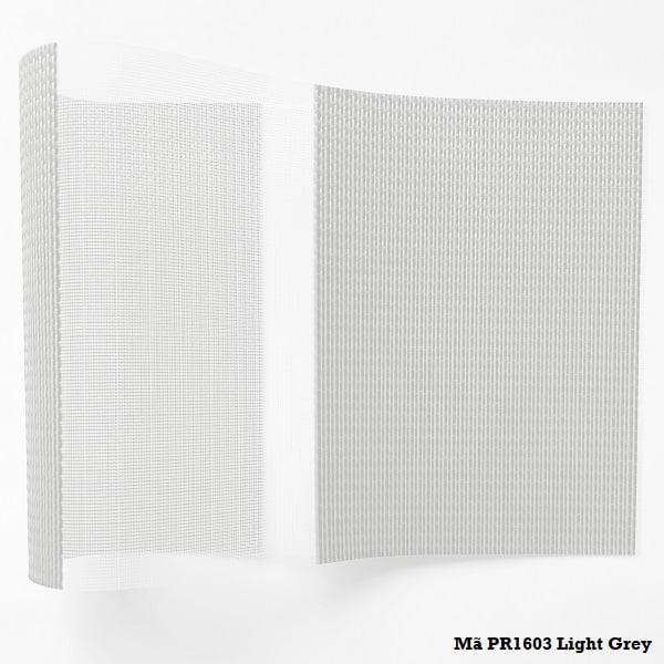 Rèm cầu vồng PR1603 Light Grey